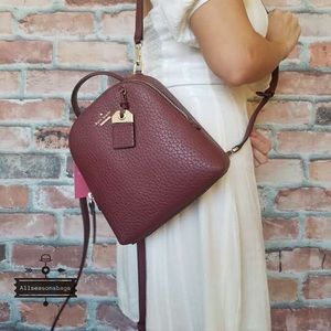 Kate spade mini Caden cherry backpack crossbody